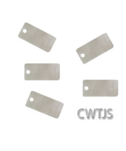 Tags Rectangle 5x10mm - 11024STG