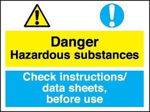 danger instructions