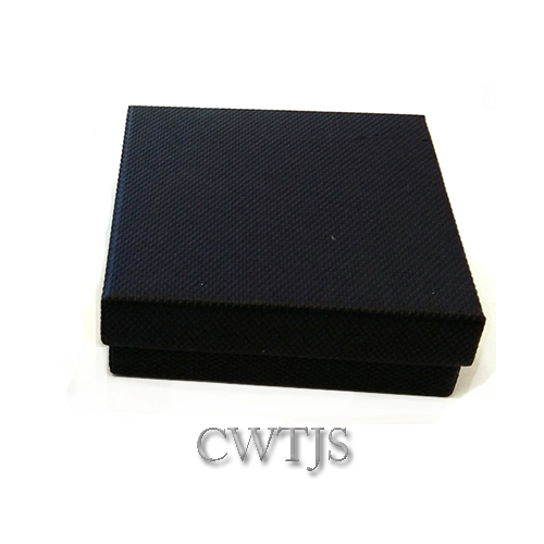 Black Jaquer Cufflink box - J0052