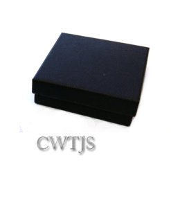 Black Jaquer Box 60x60x20mm - J0054