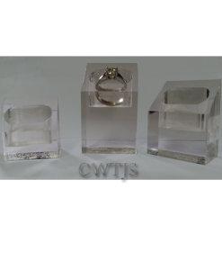 Perspex Displays Ring or Pendant - J0060 J0061