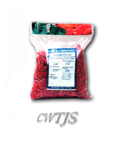 Injection wax Red Castaldo flakes