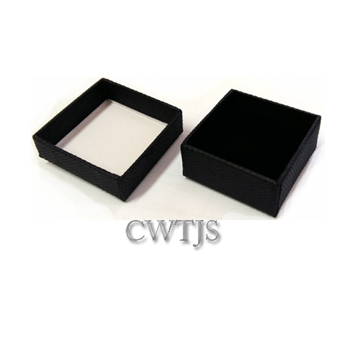 Black Jaquer Ring Box - J0068