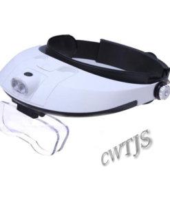 Headband Magnifier LED