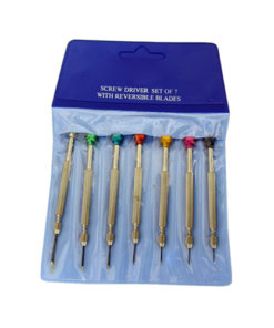 Screwdriver 7 Piece Set - S0182