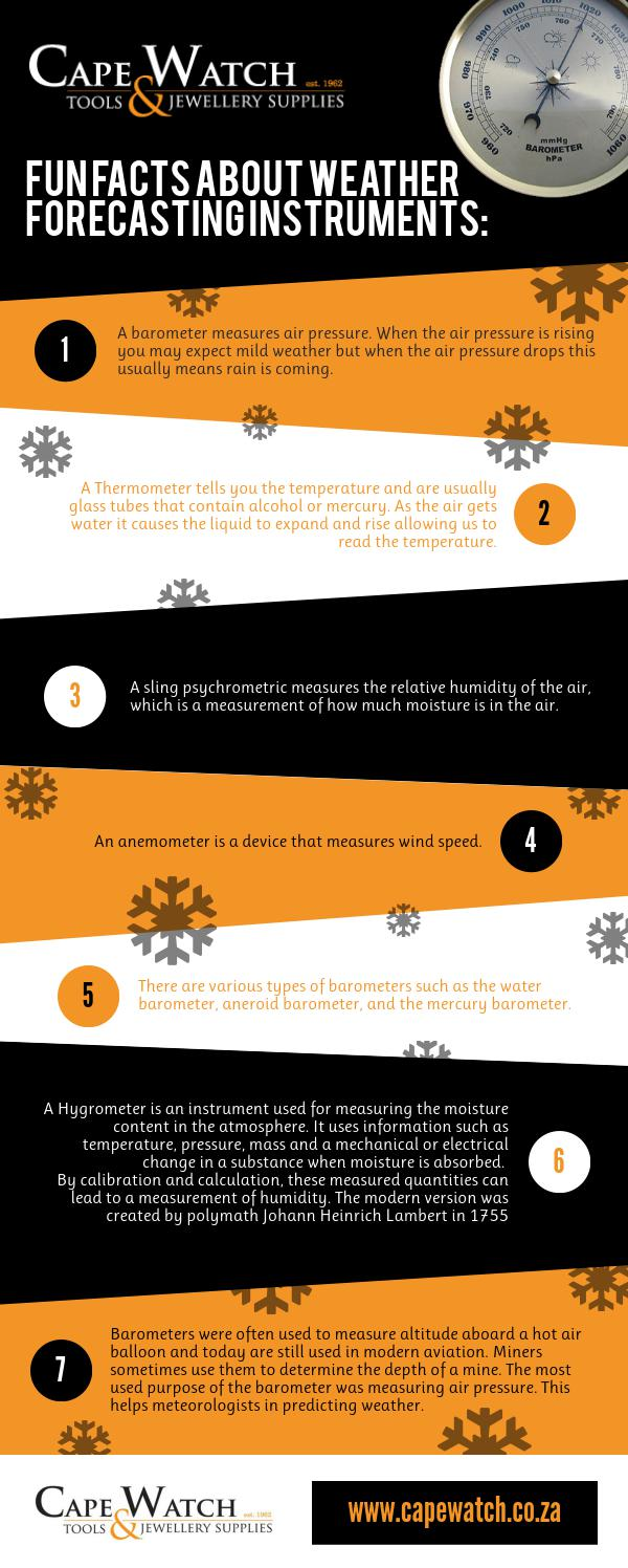 Fun Facts About Weather Forecasting Instruments