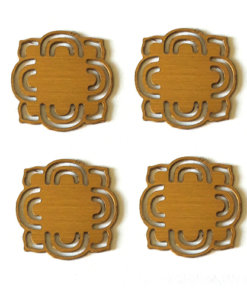 Brass Fancy Plates 20mm - CLW179