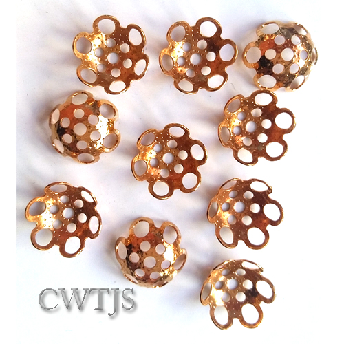 Gold End Caps - CLW099