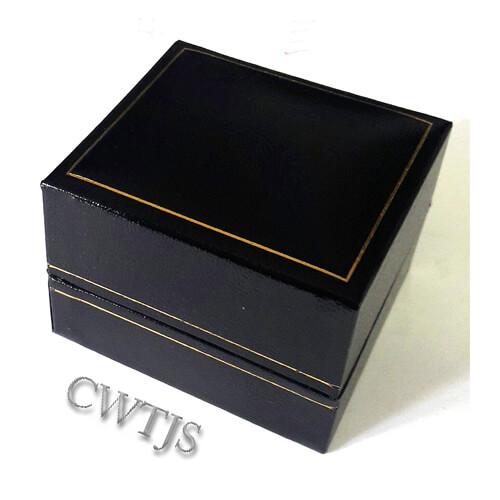 Leatherette Ring Box closed- J0034