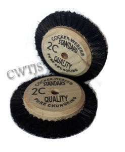 Lathe Brush Black Bristle 70mm 3 Row - B0210