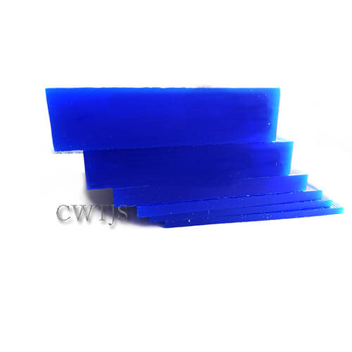 Wax Slices Blue Square