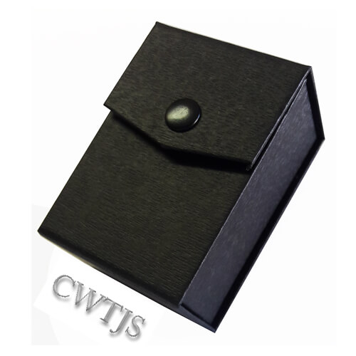Black Jaquer Twin Ring Box - J0070