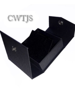 Black Jaquer Pendant Box - J0071