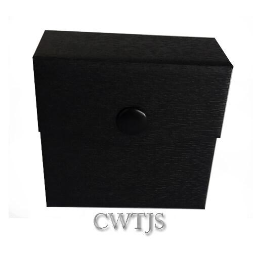 Black Jaquer Pendant Box - J0071