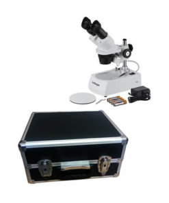 Portable Microscope with Carry Case - M0201