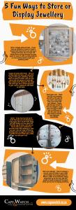 fun ways to store jewellery