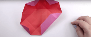 origami diamond box