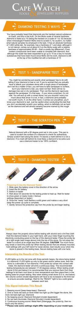 Diamond Testing Techniques