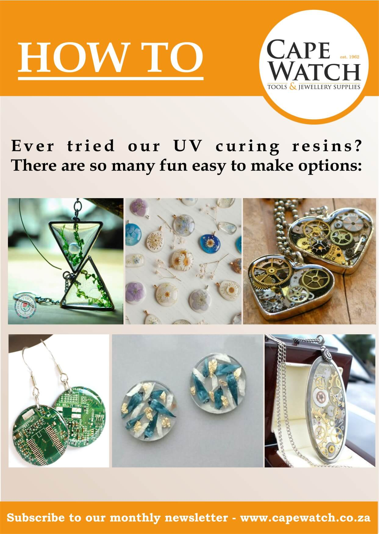 Creative Colour UV Resins