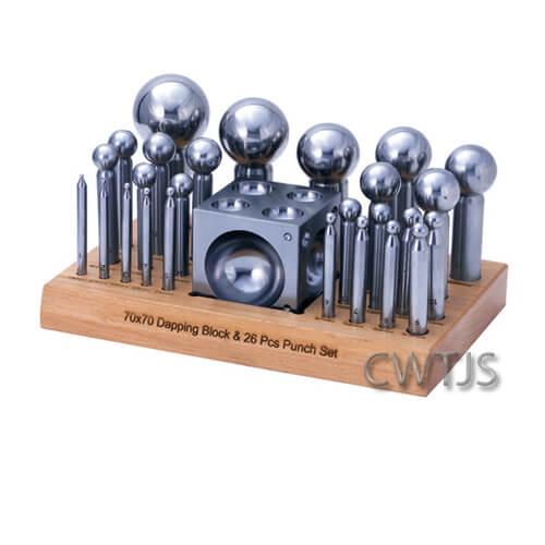 Dapping Set 26 Measures 2-50mm - D0258