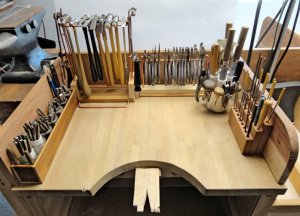 get your bench organized