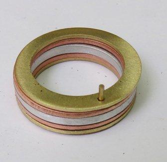 making a ring with a rivet