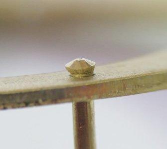 rivet hole