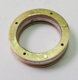 rivet holes