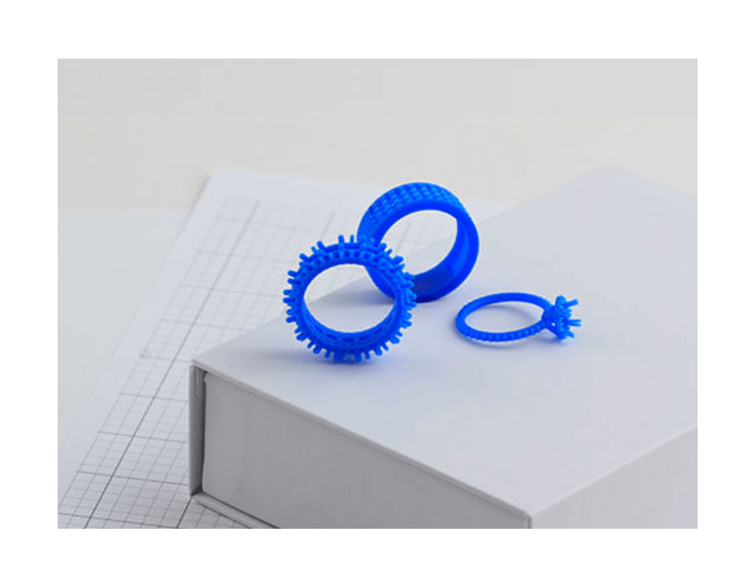 3D printing machine rings