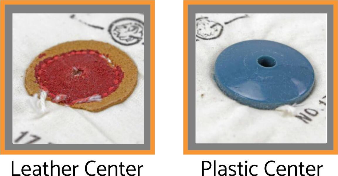 Shellac leather plastic buffing & polishing