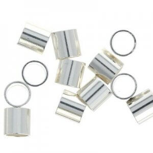 10-piece-Sterling-Silver-3x3mm-Crimp-Beads-Tubing