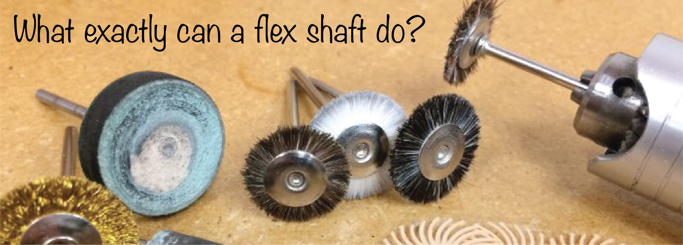 What exactly can a flex shaft do?