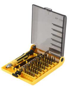Multi-tool torx hex flat nut screwdriver